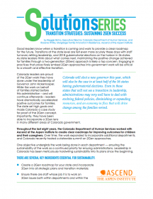 Ascend Transition Strategies brief