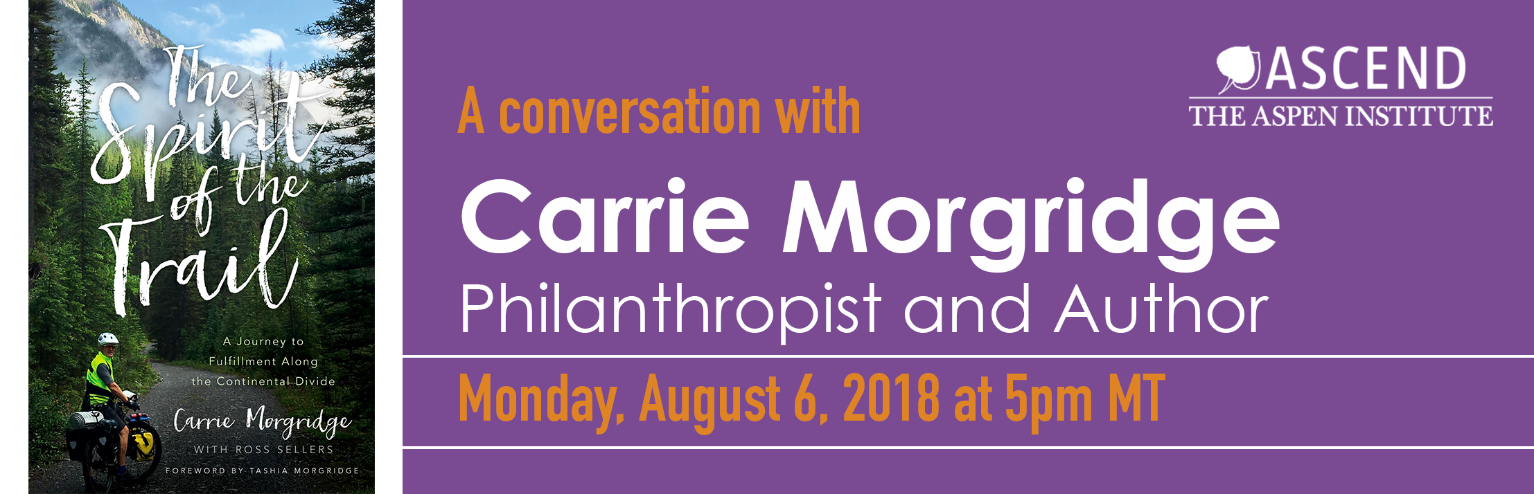 Carrie Morgridge book talk