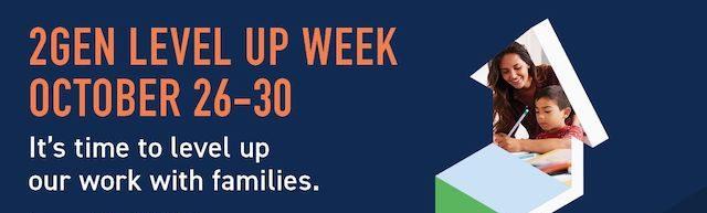 2Gen Level Up Week Kicks Off! Join the conversation