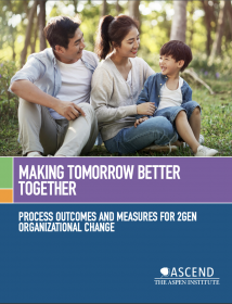 Making Tomorrow Better Together: Process Outcomes and Measures for 2Gen Organizational Change