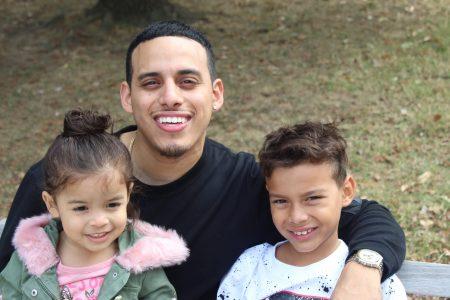 Ariel Ventura-Lazo, Parent Advisor, and children
