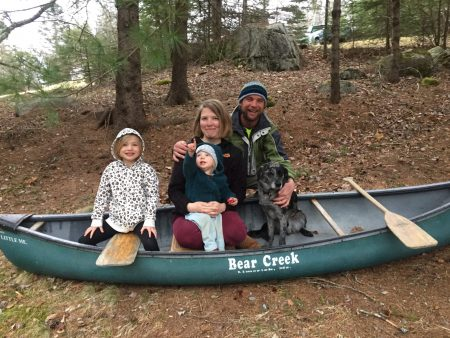 Savannah Steiger, Parent Advisor, with family